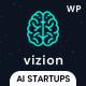 Vizion - AI,Tech & Software Startups WordPress Theme - ThemeForest Item for Sale