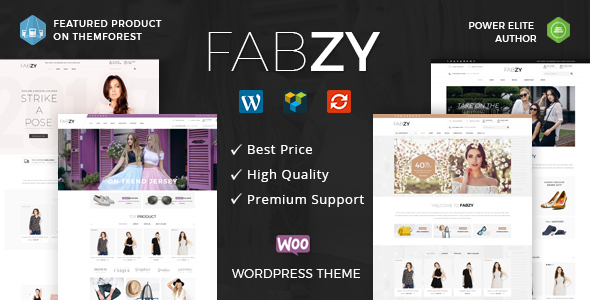 Fabzy - Multipurpose WooCommerce Theme