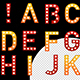 Casino Style Light Bulb Letters - GraphicRiver Item for Sale