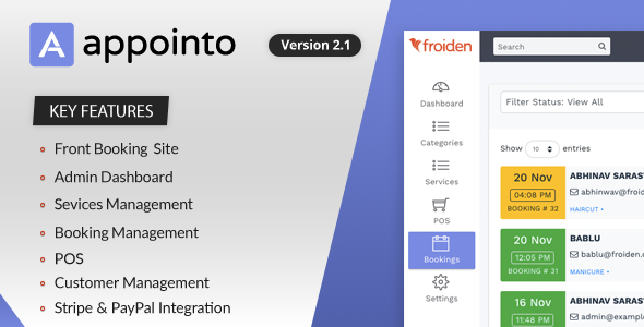 Appointo - Booking Management System Download