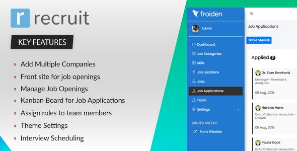 Recruit - Recruitment Manager Download