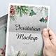 Invitation Mockup - GraphicRiver Item for Sale