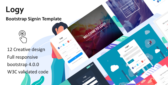 Logy - Bootstrap Signin Template