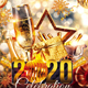 New Year Glam Party Flyer - GraphicRiver Item for Sale