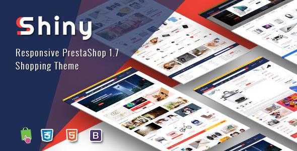 Shiny - Best Responsive Prestashop 1.7 Shopping Theme 1