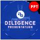 Diligence Business Presentation Template - GraphicRiver Item for Sale