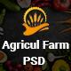 AgriculFarm - Agriculture & Organic Food PSD Template - ThemeForest Item for Sale