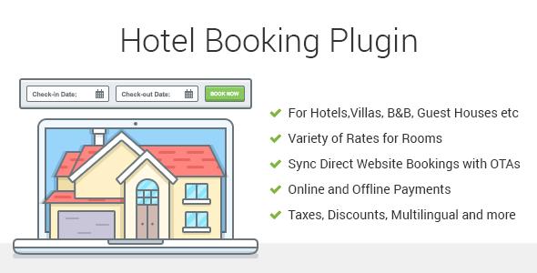 Hotel Booking WordPress Plugin - MotoPress Hotel Booking Download
