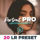 20 Cinematic Portrait Lightroom Presets - GraphicRiver Item for Sale