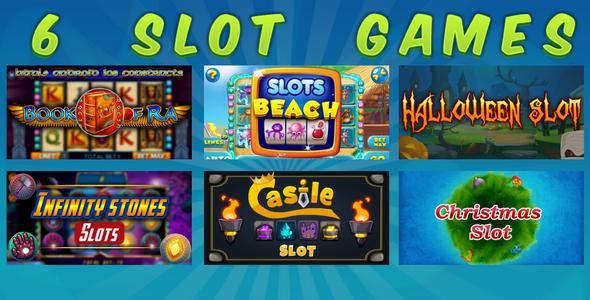 HTML5 SLOT GAMES BUNDLE №4 Download