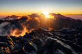 Sun rising over the beautiful mountains in High Tatras, Slovakia - PhotoDune Item for Sale