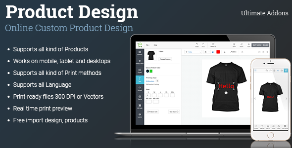 Ultimate Addons for Custom Product Designer, woocommerce custom product designer, opencart custom product designer, custom product designer php, opencart custom product designer free download