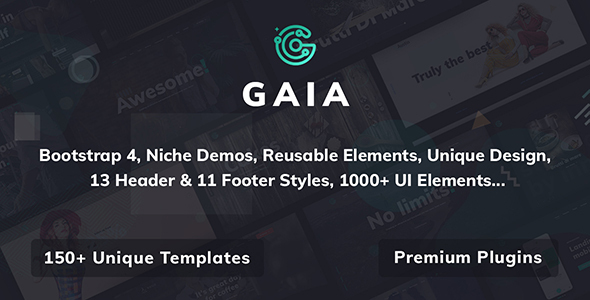 Gaia | A High Performance Creative Template