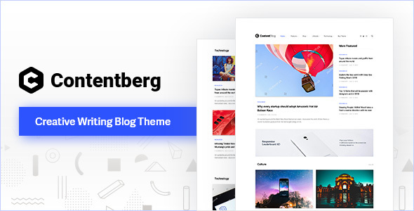 Contentberg - Content Marketing & Personal Blog Download