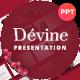 Devine Floral Ornament Presentation Template - GraphicRiver Item for Sale