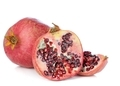 Pomegranate Fruits on a White Background - PhotoDune Item for Sale