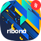Ribona - Abstract Stripe Composition Backgrounds - GraphicRiver Item for Sale