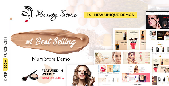 Beauty Store - Cosmetics & Fashion Shopify Theme