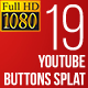 Youtube Subscribe Button Splat FullHD - VideoHive Item for Sale