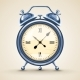 Classic Alarm Clock with Analog Dial - GraphicRiver Item for Sale