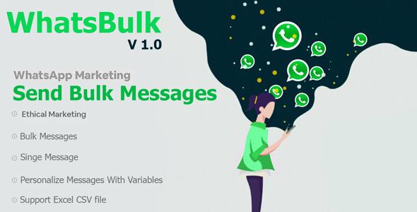 WhatsBulk - Whatsapp Bulk Messages Sender