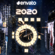 New Year Countdown Clock 2020 - The City - VideoHive Item for Sale