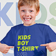 Kids Boy T-Shirt Mockups Vol5 - GraphicRiver Item for Sale