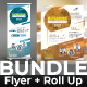Conference Bundle (Flyer+Roll Up) - GraphicRiver Item for Sale