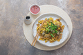 Oyster Omelette with hot suace singaporean cuisine, copy space - PhotoDune Item for Sale