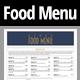 Restaurant Food Menu Template - GraphicRiver Item for Sale