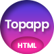 Topapp - App Landing Page - ThemeForest Item for Sale