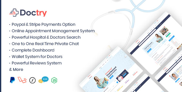 Doctry – Doctors and Hospitals Listing Theme