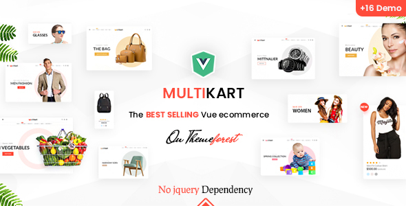Multikart - Responsive Vuejs eCommerce Template