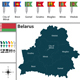 Map of Belarus - GraphicRiver Item for Sale