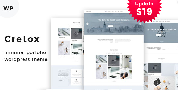 Cretox - Multipurpose Minimal Portfolio WordPress Theme