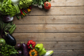 Healthy food, vegetables on a wooden table - PhotoDune Item for Sale
