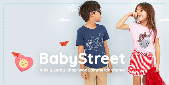 BabyStreet - WooCommerce Theme for Kids Toys and Clothes Shops