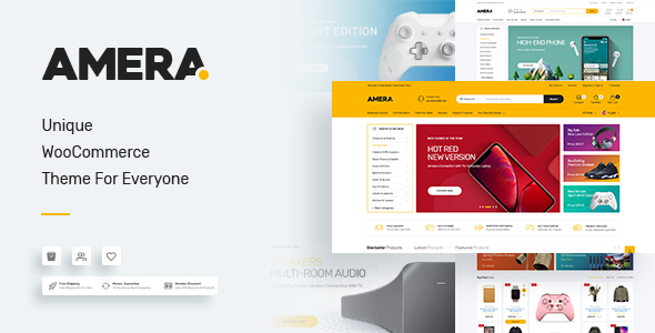 Amera - Digital WooCommerce WordPress Theme