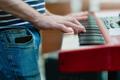 Keyboard player detail - PhotoDune Item for Sale