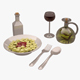 Macaroni 01 - 3DOcean Item for Sale
