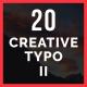 Creative Typo II - VideoHive Item for Sale