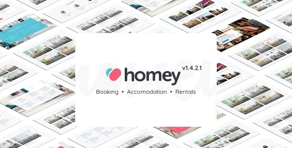 Homey - Booking and Rentals WordPress Theme