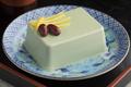 Japanese matcha tofu on a dish - PhotoDune Item for Sale
