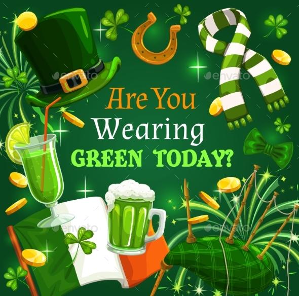 St Patrick Day Shamrock