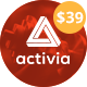 Activia -  Gym and Fitness WordPress Theme - ThemeForest Item for Sale