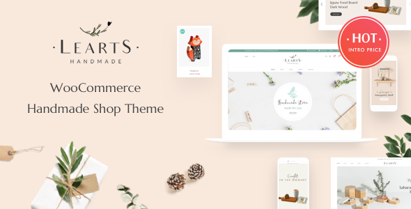 Review: LeArts - Handmade Shop WooCommerce WordPress Theme free download Review: LeArts - Handmade Shop WooCommerce WordPress Theme nulled Review: LeArts - Handmade Shop WooCommerce WordPress Theme