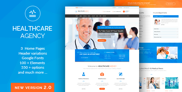 Health Care - Medical WordPress