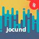Jocund - Halftone Vertical Melting Lines Backgrounds - GraphicRiver Item for Sale