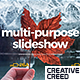 Multipurpose Slideshow / Travel Journey Opener / Memories Photo Album / Positive Gallery - VideoHive Item for Sale