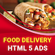 Food Delivery - HTML5 Animated Banner - CodeCanyon Item for Sale